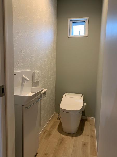 テクノストラクチャーで建てた家のトイレ