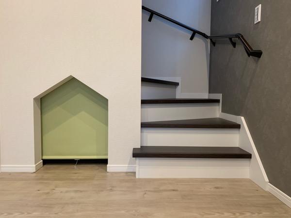 テクノストラクチャーで建てた家の階段