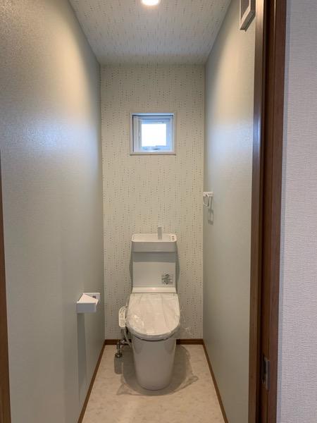 テクノストラクチャーで建てた家の2階トイレ