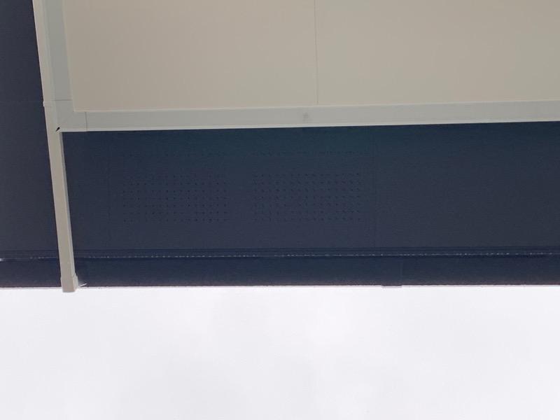 軒天(屋根の裏)の通気孔