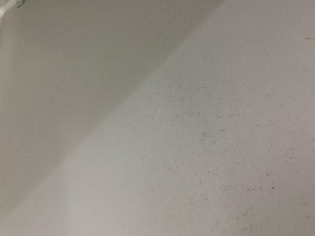 ほっとくリーンフードの天板を開けて近くから見た様子